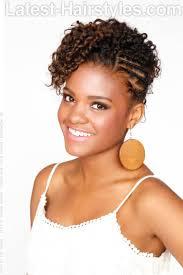 natural beauty updo for black women