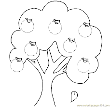 Small Picture Apple tree Coloring Page Free Autumn Coloring Pages