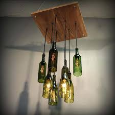 beautiful lamp with lampshade diy bottle