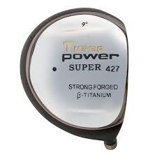 Tiger Power Super 427 Offset Titanium Driver Head - Monark Golf