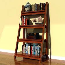 ladder style bookcase keep a style in your corner using a ladder bookcase for storage ladder ladder style