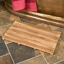 Teak Bath Mats X Teak Rectangular Shower Mat Bathroom Home Improvement Teak  Bath Mat Crate And