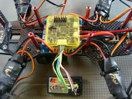 mounting the components for a fpv racing quadcopter Wiring A Cc3d To Quadcopter installing the cc3d flight controller CC3D Flight Controller Wiring Diagram
