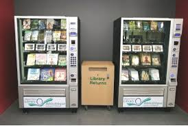 Large Vending Machines Interesting Library Vending Machines For Books In The Ebook Era TeleRead