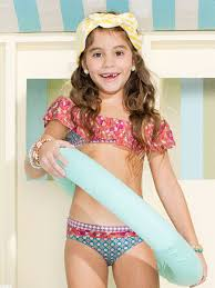 french flamenco maaji swimwear kids if the top covered anything this would be really cute