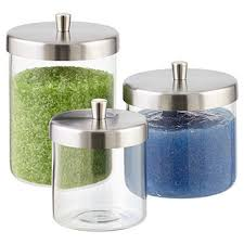 clear glass bathroom accessories. apothecary jars clear glass bathroom accessories