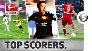 Five Goals Each For The Bundesligas Top Scorers