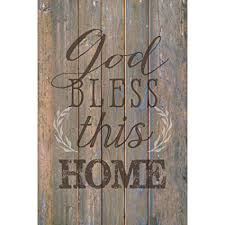 god bless this home 6 x 9 wood plank look wall art plaque on allah bless this home wall art with amazon god bless this home 6 x 9 wood plank look wall art