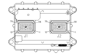 3126 Cat Ecm Pin Wiring Diagram Cat 3126 HEUI Pump Diagram