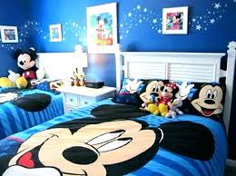mickey mouse toddler room
