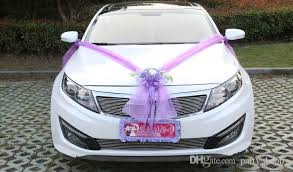 Wedding Car Decoration Design Wedding Car Flower Design Decoration Kit Wedding Car Decoration Kit 2