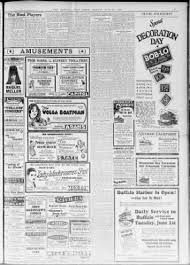 Detroit Free Press From Detroit Michigan On May 31 1926