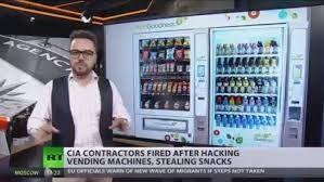 How To Hack A Snack Vending Machine New Hunger Games CIA Contractors Fired After Hacking Vending Machines