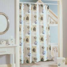 Image of: Free Ground Modern Shower Curtains