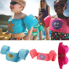 Us 4 76 37 Off Puddle Jumper Baby Kids Arm Ring Life Vest Floats Foam Safety Life Jacket Sleeves Armlets Swim Circle Tube Ring Swimming Rings In