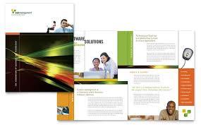 Technology Business Marketing Brochures Flyers Newsletters