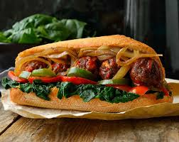 this vegan meatball sub sandwich is super hearty super flavourful and chock full of veggies