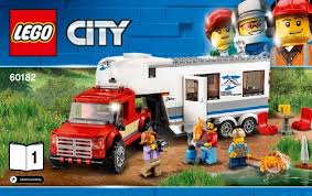 LEGO Pickup and Caravan Instructions 60182, City