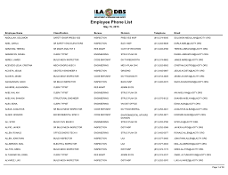 Ladbs Organizational Chart Employee Phone List Ladbs Org Department Of Building And