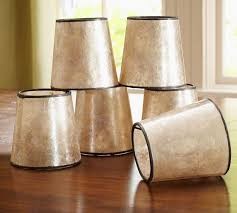 mini mica drum chandelier shade set of 3
