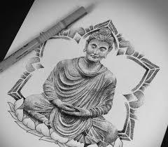 тату будда история значение и эскизы
