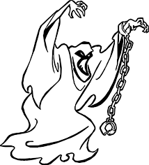 Ghost Coloring Pages Coloringsuite Ruva