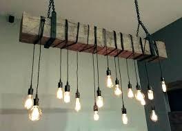 chandeliers wood beam chandelier reclaimed outdoor log cabin lighting ideas light fixture