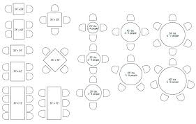 round table sizes dining table sizes standard round size for 4 dining table sizes chart round table sizes
