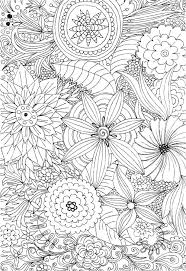 Small Picture 50 best Free Flower Coloring Pages images on Pinterest Mandalas