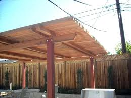 diy free standing patio cover plans coastal lumber custom covers image gallery