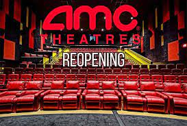 Cl a amc entertainment holdings, inc. Amc Theatres To Reopen August 20 With 15 Cent Movie Tickets