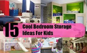 kids bedroom storage. 15 Cool Bedroom Storage Ideas For Kids