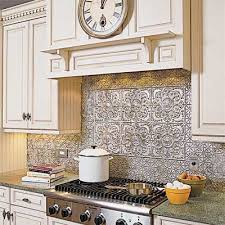 Tin Ceiling Tiles For Backsplash