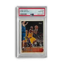 Jun 05, 2021 · 1996 topps # 138 kobe bryant rc rookie card psa 8.5 la lakers black mamba $1,527.83 $1,608.24 previous price $1,608.24 5% off 5% off previous price $1,608.24 5% off 1996 Topps Kobe Bryant Psa 10 Rookie Card Uncrate