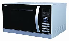 sharp r861slm. sharp 25 litre dual grill combination microwave, silver: amazon.co.uk: kitchen \u0026 home r861slm