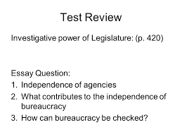 chapter the bureaucracy p definition bureaucracy a large  23 test