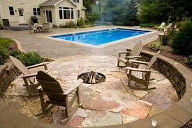 Concept Patio With Fire Pit D In Decor