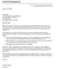 Effective Cover Letter Writing Investment Banking Sample Cover