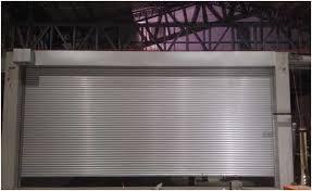 motorized galvalume shutter