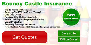 compare bouncy castle insurance s for all inflatable insurance needs save upto 35 in minutes