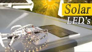How to <b>Solar Power LED</b> Lights for Decoration - RCLifeOn - YouTube