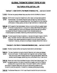 global history thematic essay global history thematic essay topic 11 20 body outline example