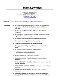 Production Assistant Job Description Resume Sample Smsingyennet