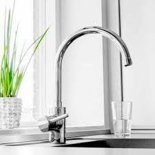 modern kitchen faucet installation by dj plumbing