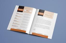 Resume Booklet Template Best of Resume Booklet Template Vol 24 Resume Templates Creative Market