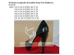size 38 in us shoe christian louboutin shoes
