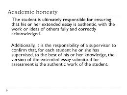 Academic Honesty Academic Honesty Must Be Seen As A Set Of