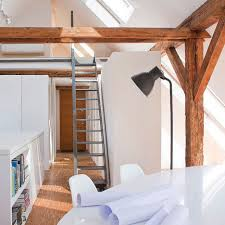 attic in house. workshop in the attic by pl_architekci house