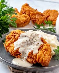 And yes, this is a real thing. Chicken Fried Chicken Tornadough Alli