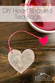 tic diy gift ideas for your boyfriend you can make heart shaped tea bags valentines day birthday husband handmade creative gifts small him men his unique